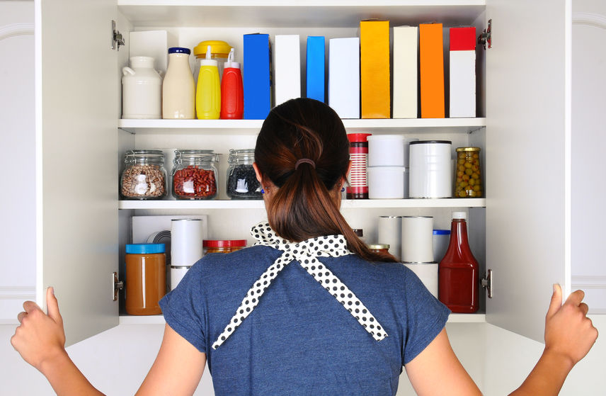 clean your pantry lose some weight